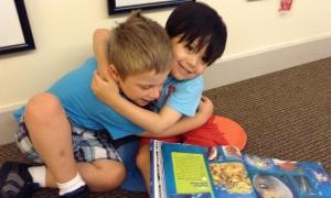 Friendship Lucas and Landon